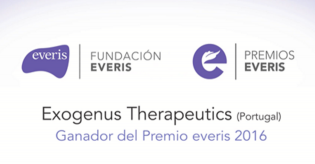 Exogenus Therapeutics winner of Everis Foundation award 2016