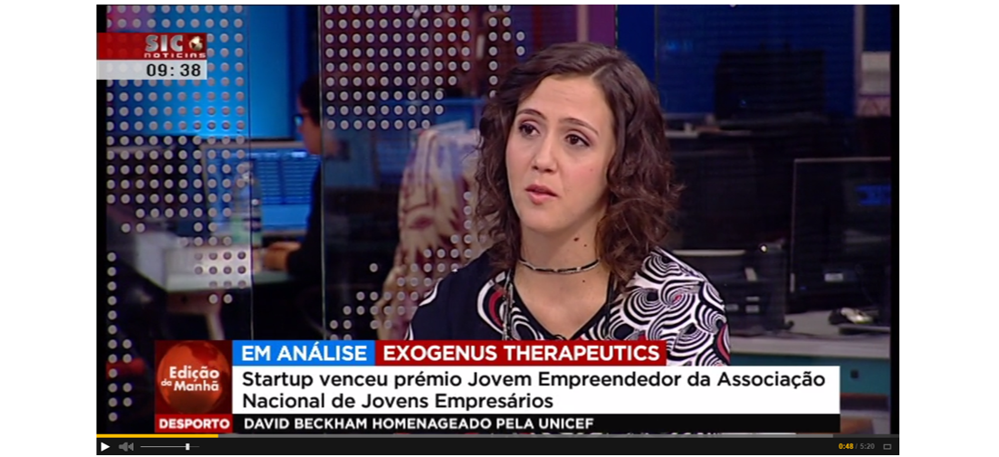 Exogenus Therapeutics at Sic Noticias