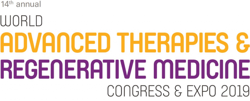 Exogenus' Scientic Officer speaker at World Advanced Therapies and Regenerative Medicine Congress 2019